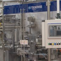 Máquina para envasado de wet wipes en Flow Packs Sigmapack